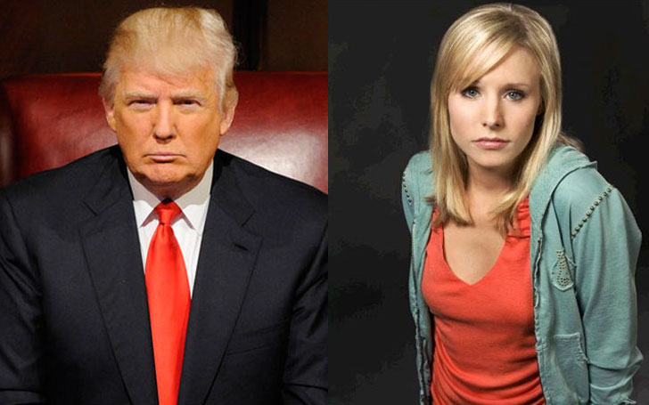 Veronica Mars' Ego towards Donald Trump and her Plan of Action for unseating him from Power