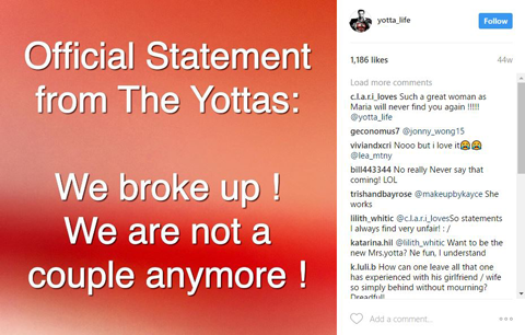 Official Statement from Yottas