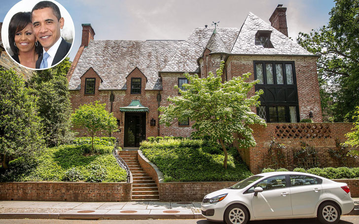 Former US president Barack Obama's new house in Washington DC; Know his net worth too