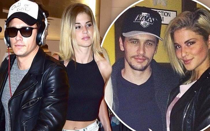 Is Erin Johnson Single after Dating James Franco? What's her Relationship Status in 2017