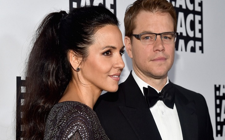 Matt Damon Married Luciana Barroso, are they Happy Together?