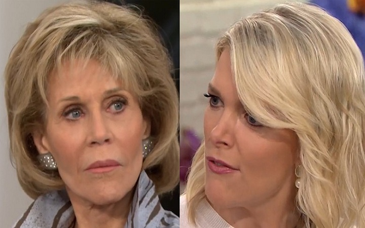 Jane Fonda Interviewed by NBC's Megyn Kelly On September 27th Explained