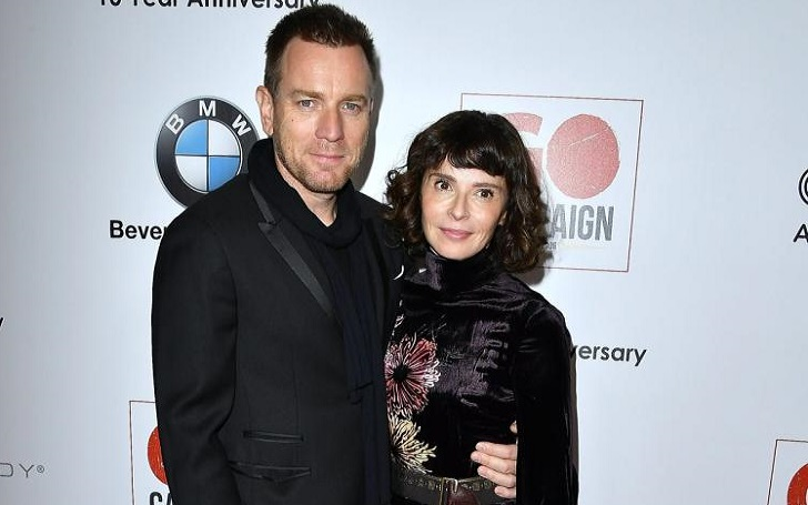 Scottish actor Ewan McGregor Splits from wife Eve Mavrakis after 22 years; Spotted Kissing co-star Mary Elizabeth Winstead