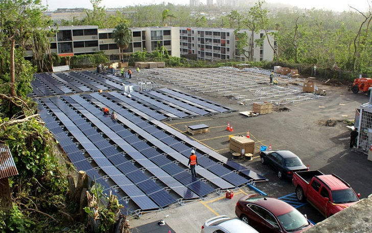 Tesla Begins Installing Solar Panels And Batteries In Puerto Rico