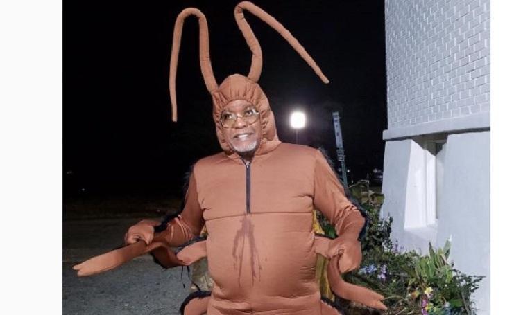NeNe Leakes' Husband Gregg Leakes Dresses as a Cockroach for RHOA's Halloween Finale Party