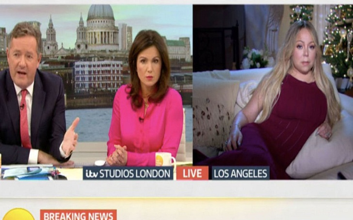 Mariah Carey embarrassed by Piers Morgan in Good Morning Britain when asked about Las Vegas massacre