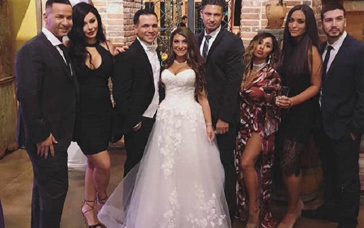 Jersey Shore' cast member Reunites in Deena Cortese and Christopher Buckner's Wedding; See their Wedding Photos