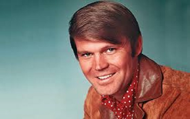 American singer Glen Campbell Married four times!