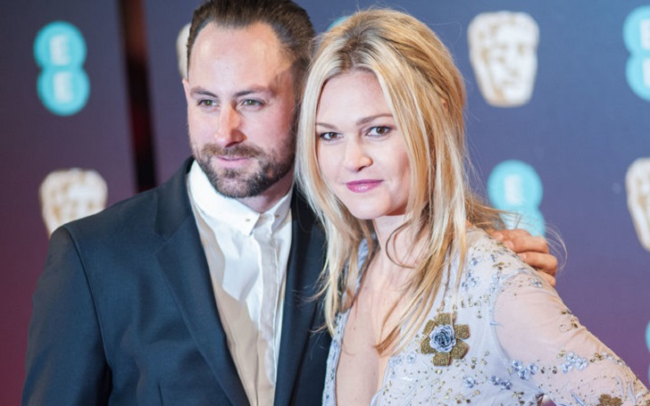 Julia Stiles Welcomes First Son with husband Preston J. Cook