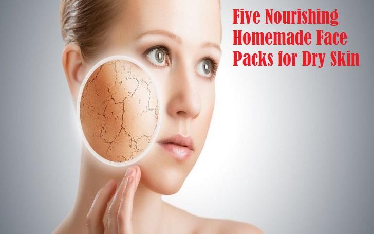 Five Nourishing Homemade Face Packs for Dry Skin
