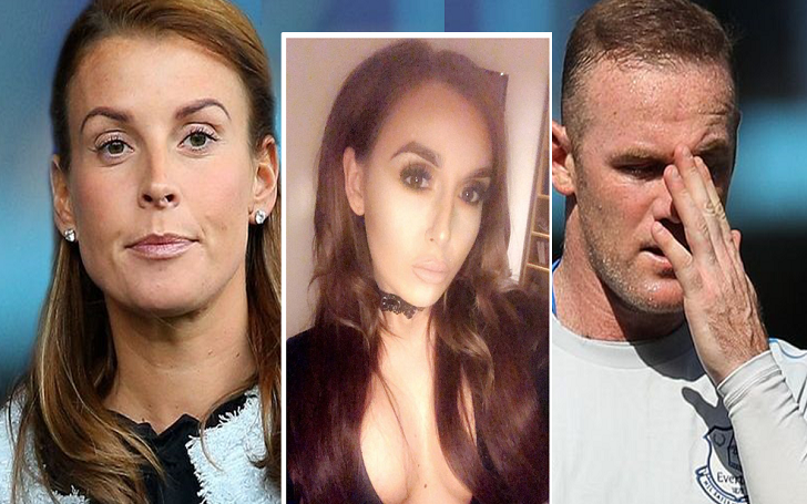 Laura Simpson, the party girl puts the 'Wayne Rooney Car' for Sale