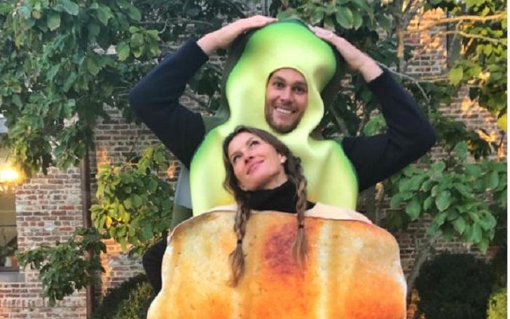 Avocado to Toast; Tom Brady and Gisele Bundchen's Halloween Costume