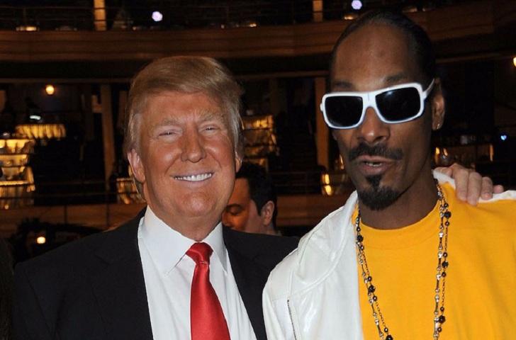 Snoop Dogg released a Controversial Album Cover Over Donald Trump's Dead Body