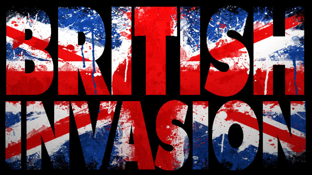 How did Britain become the powerhouse of rock music?