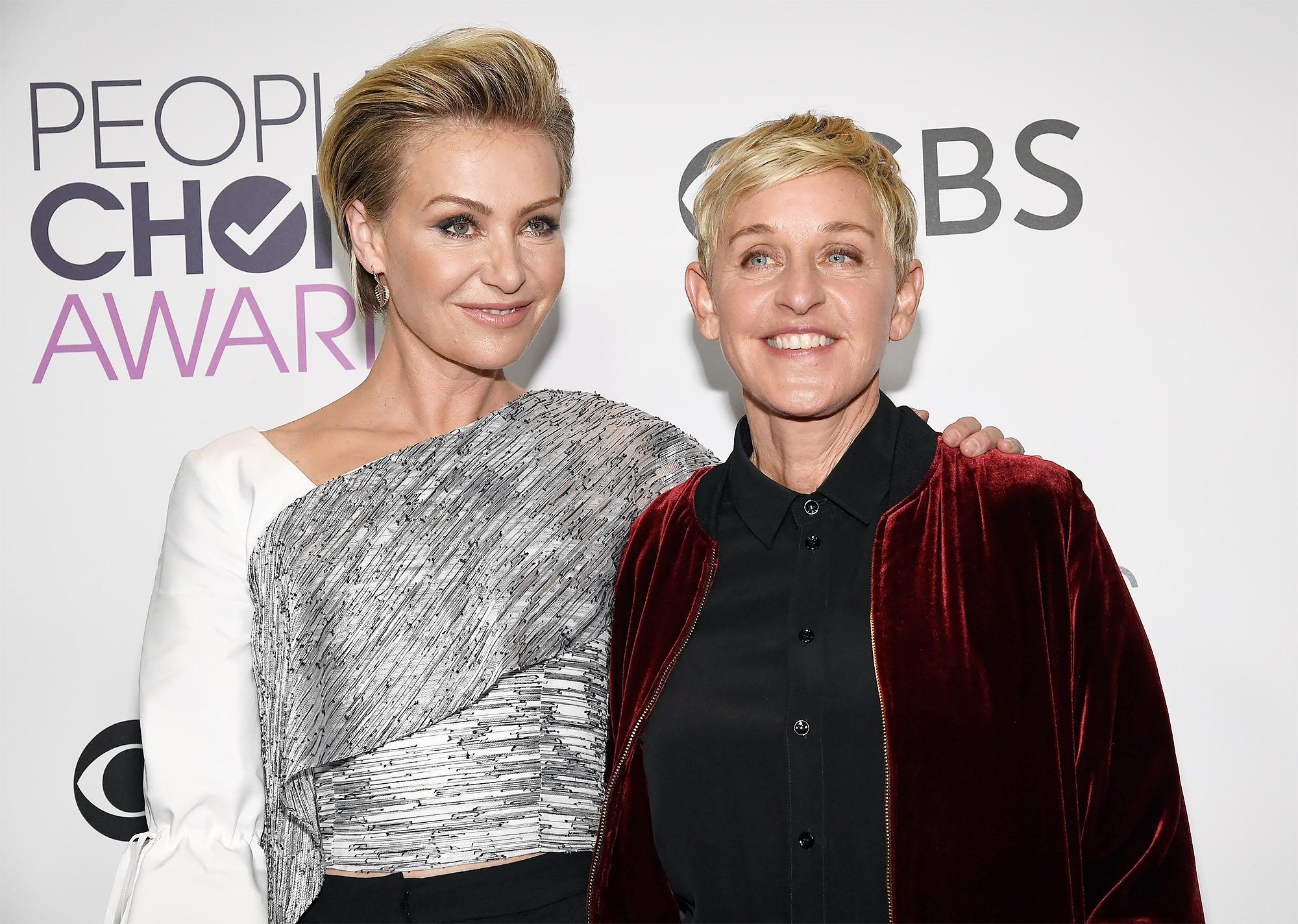 Portia and her wife Ellen DeGeneres tied the knot in 2008