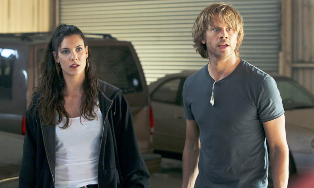Eric Paul Olsen and Daniela have been working in NCIS: LA for 10 seasons