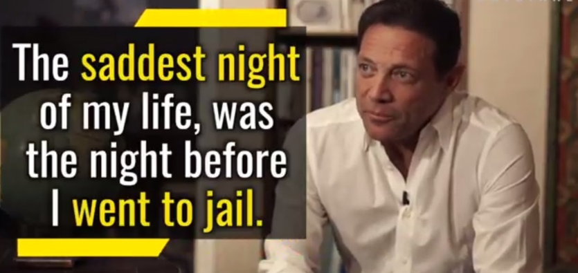 """""""The saddest day of my life, was the night before I went to jail."""""""