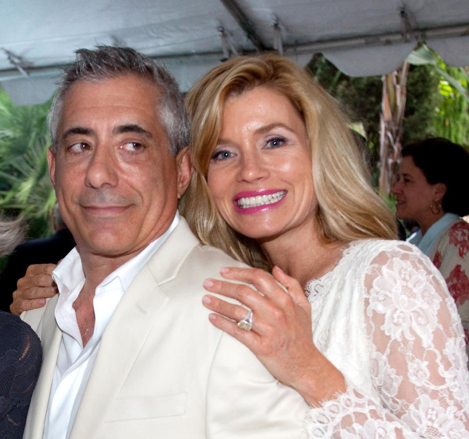 Nadine is currently married to entrepreneur John Macaluso