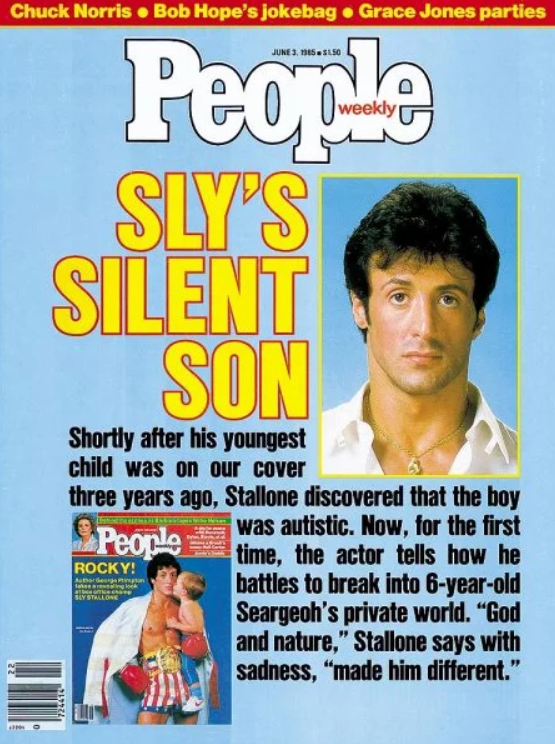 Sylvester and wife Sasha were concerned about their son's condition
