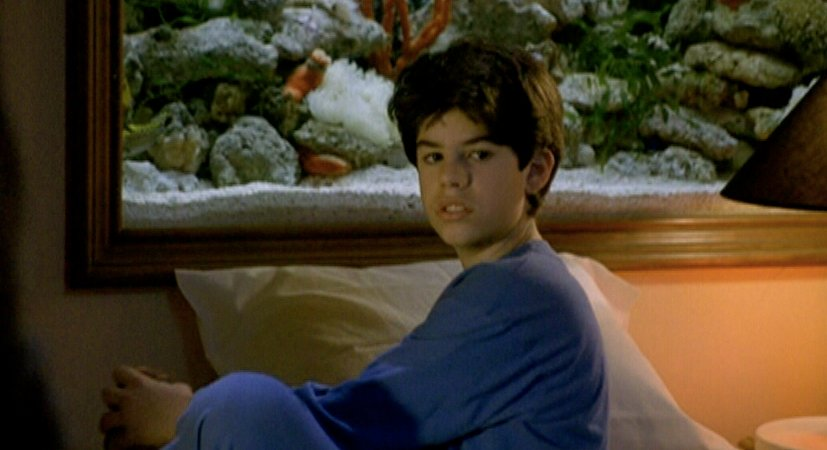 Sage Stallone also portrayed Rocky's son in the fifth film