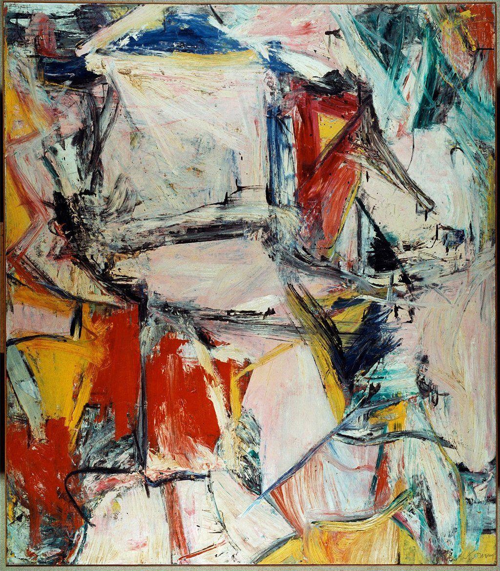 Willem De Kooning's abstract painting Interchange