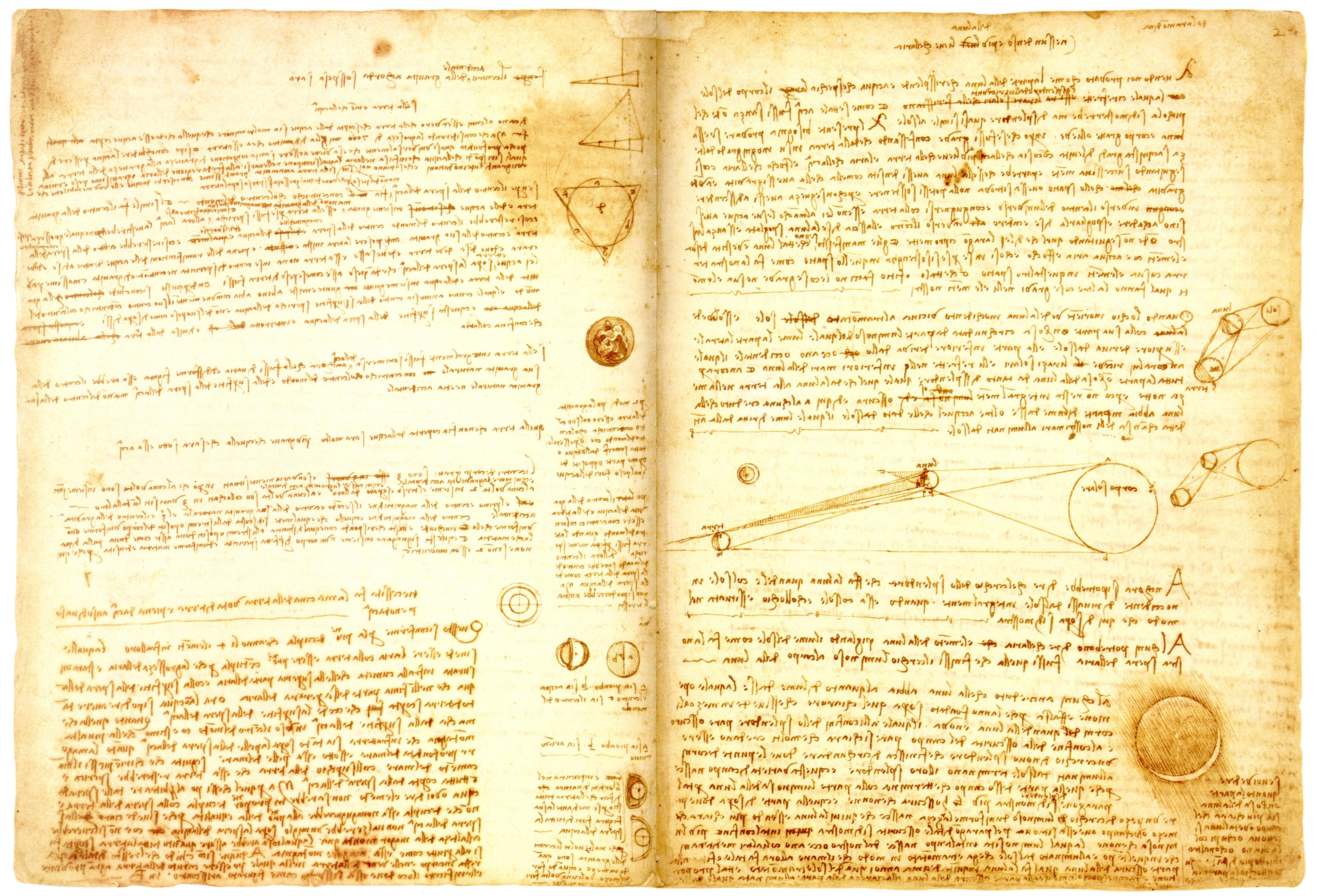 Codex Leicester by Leonardo Da Vinci