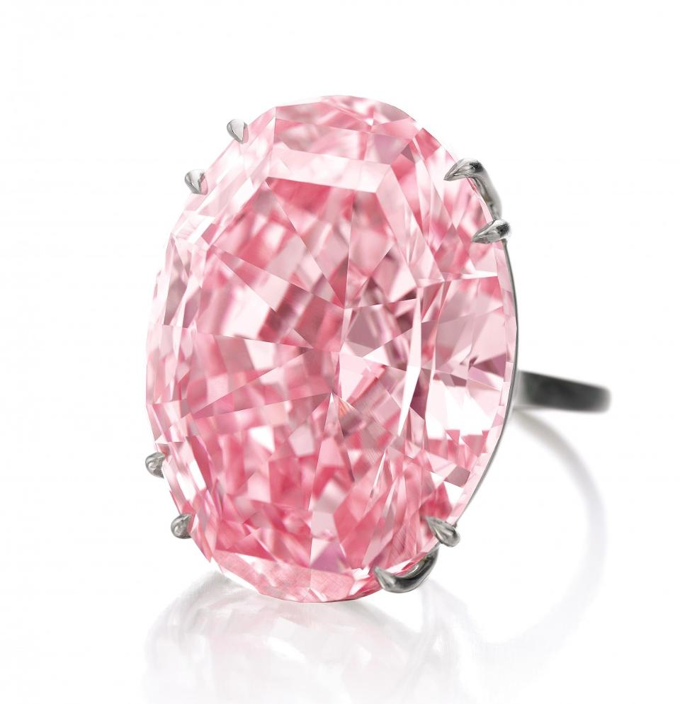 The Pink Star Diamond bought by Chow Tai Fook Enterprises