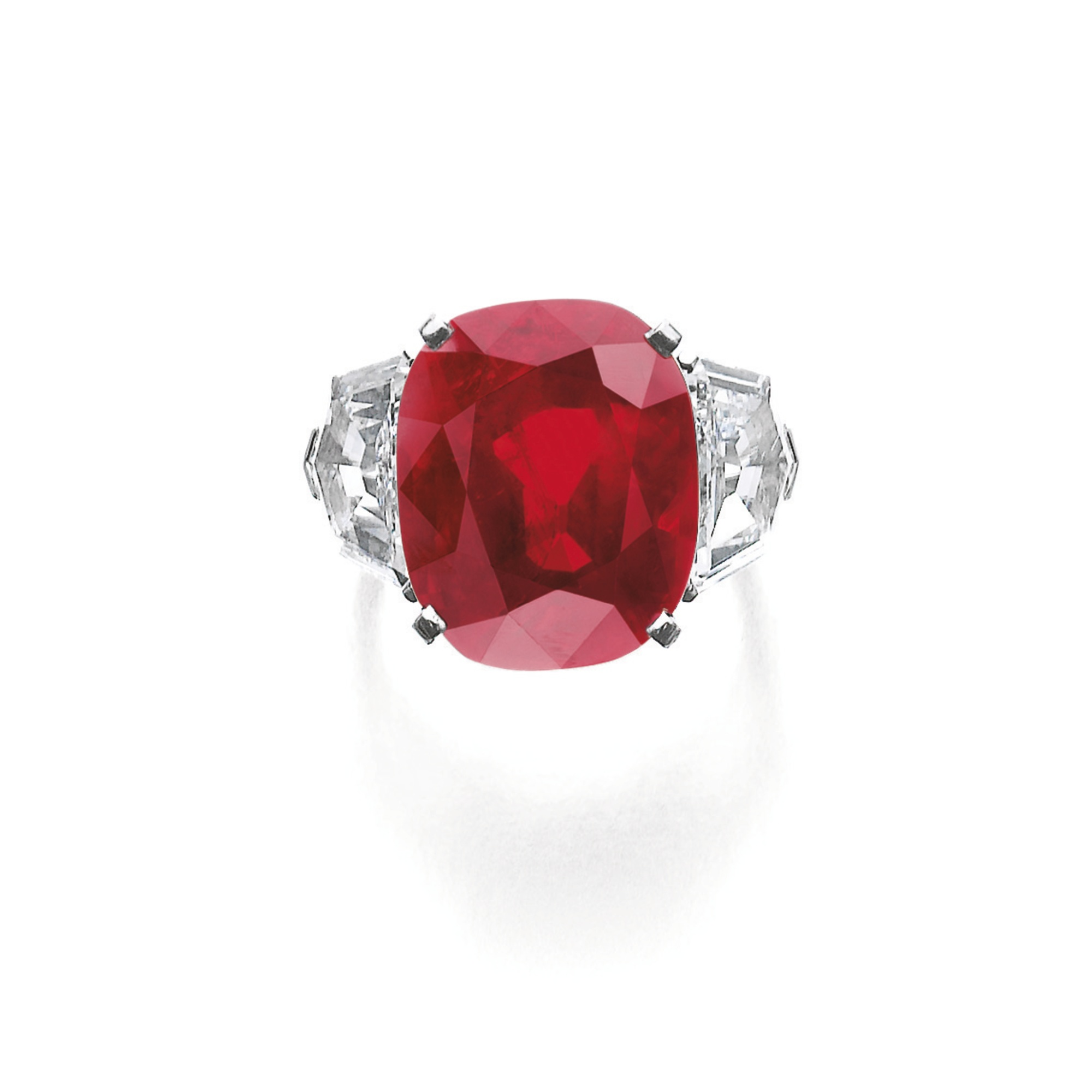 Cartier Sunrise Ruby Ring sold by Sotheby's