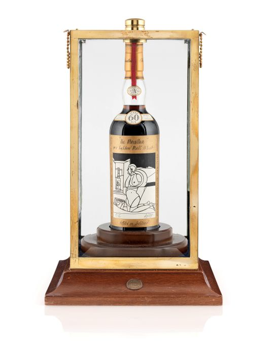 Macallan Whisky sold by Christie's in November 29, 2018