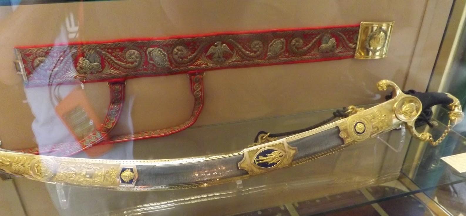 Napoleon Bonaparte's Gold-Encrusted Sword