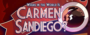Banner of the series Where in the world is Carmen Sandiego?