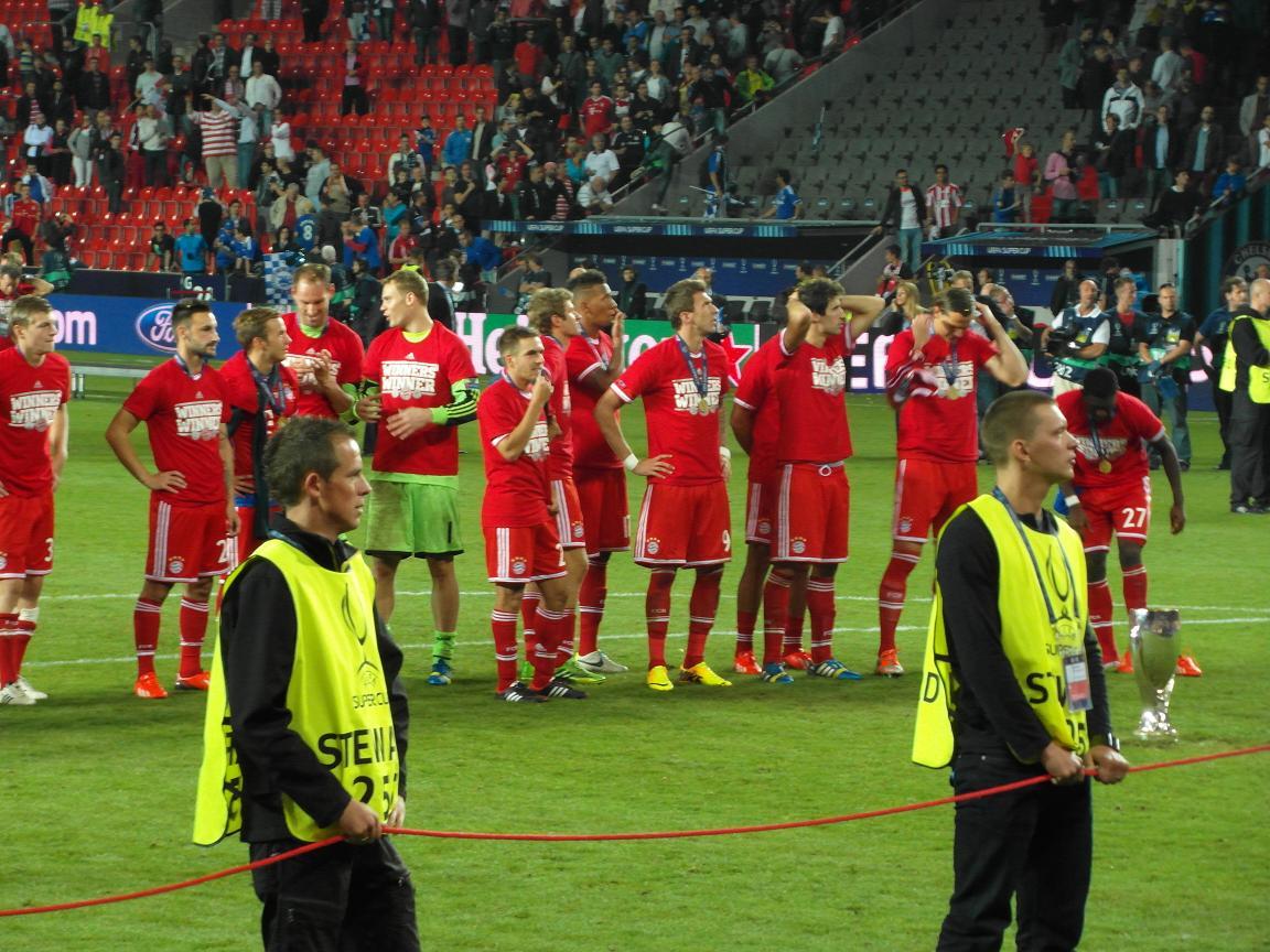 Bayern Munich players in 2019