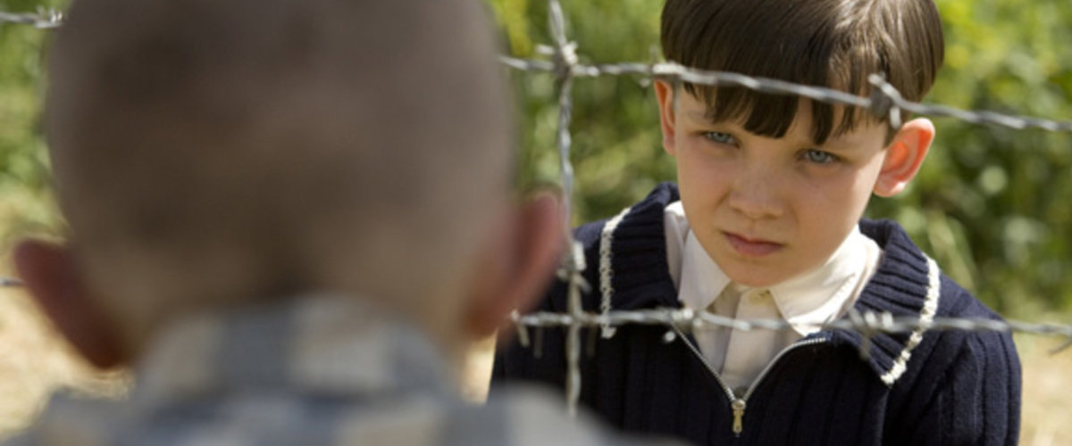 Asa portrayed an innocent boy who views the Holocaust from the other side of the fence.