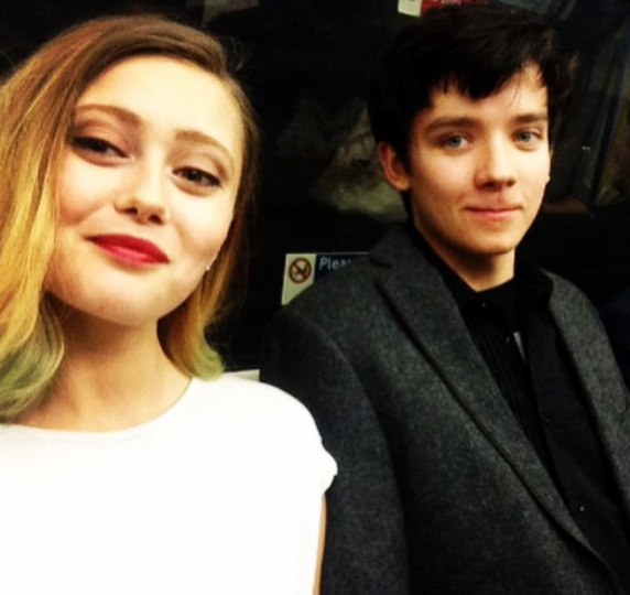 Asa and ex-girlfriend Ella often posted pictures on Instagram