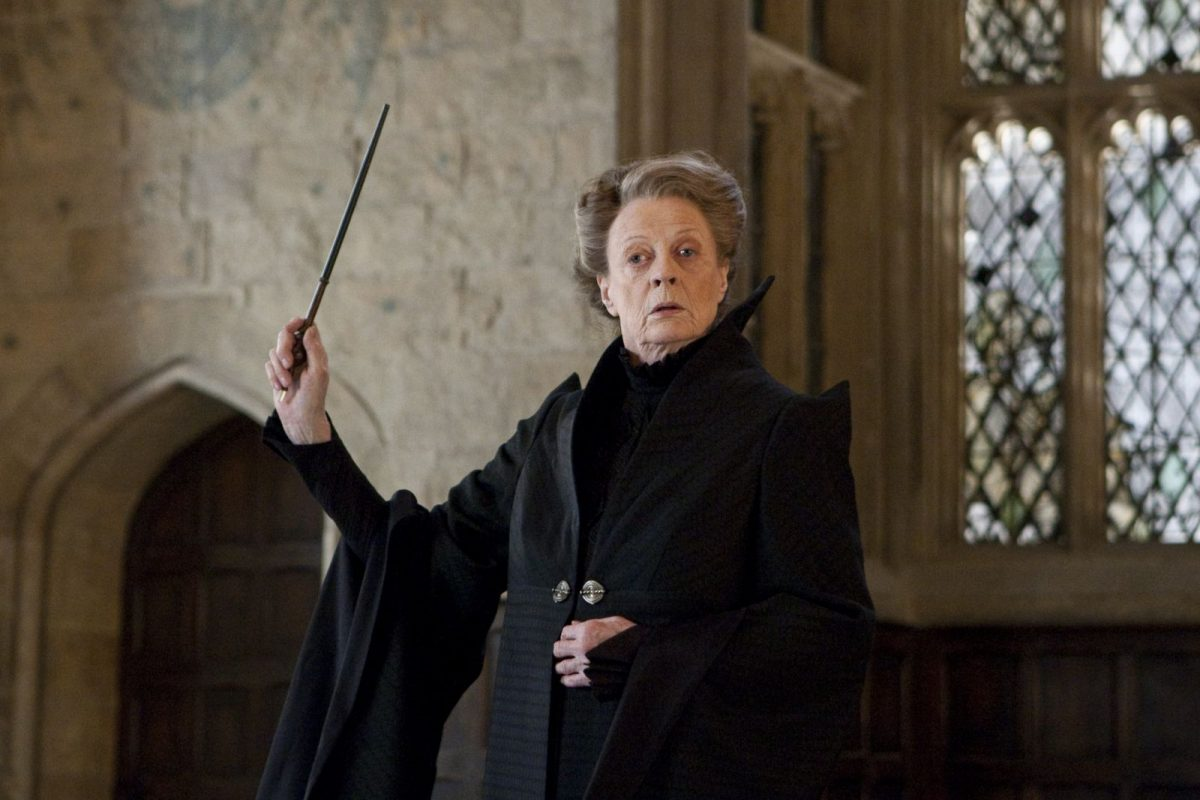 Maggie Smith as Minerva McGonagall in Harry Potter franchise