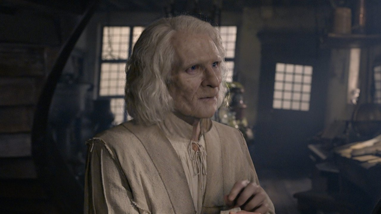 Mexican-French actor Brontis Jodorowsky as Nicholas Flamel in Fantastic Beasts: Crimes of Grindelwald