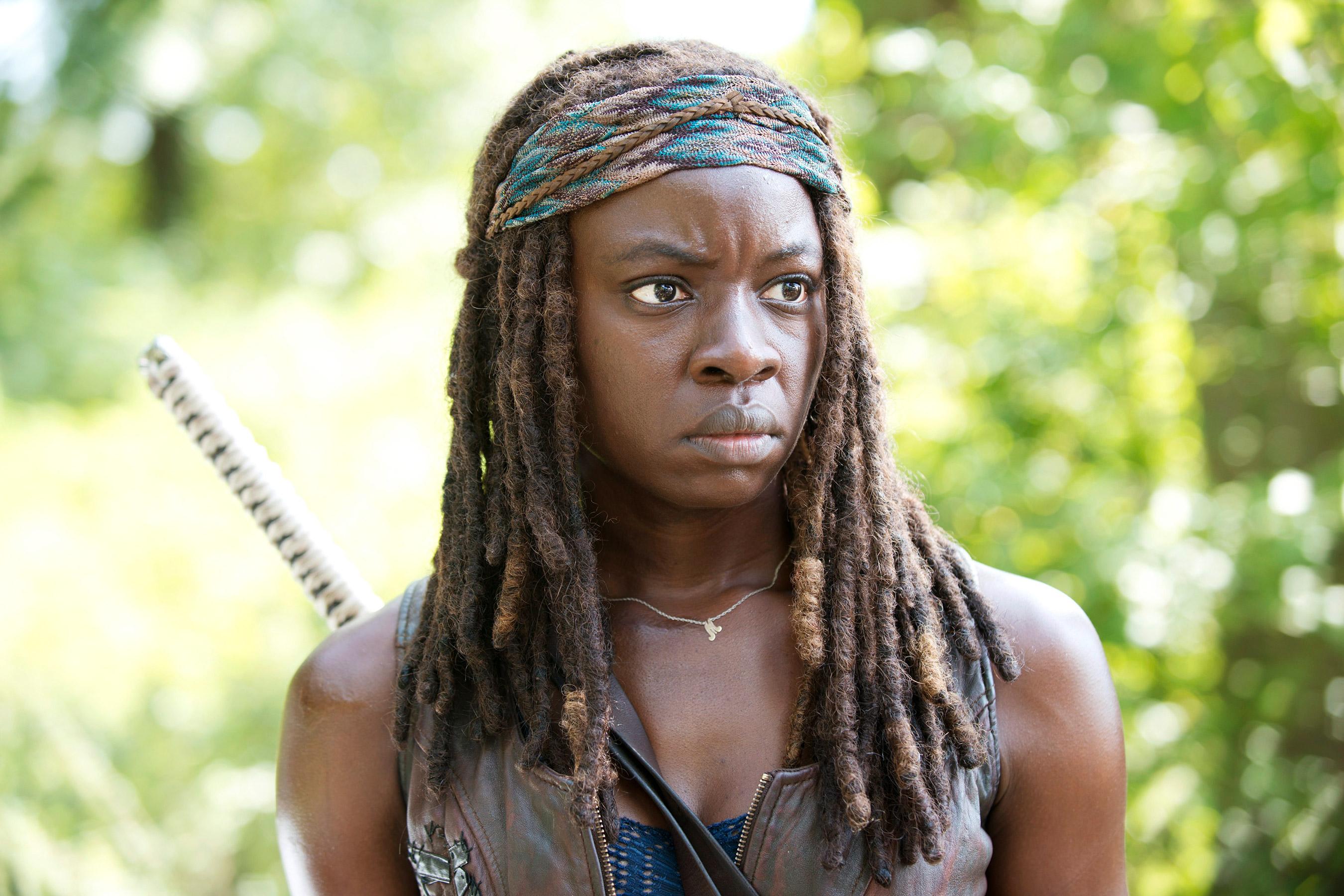 Danai Gurira as Michonne in The Walking Dead