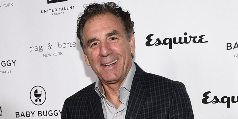 Old Michael Richards smiling in a function
