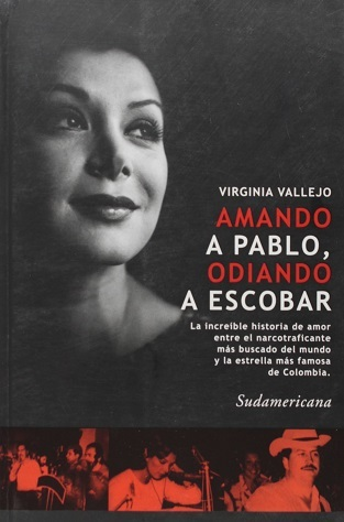 Hardcover of the book written by Virginia Vallejo