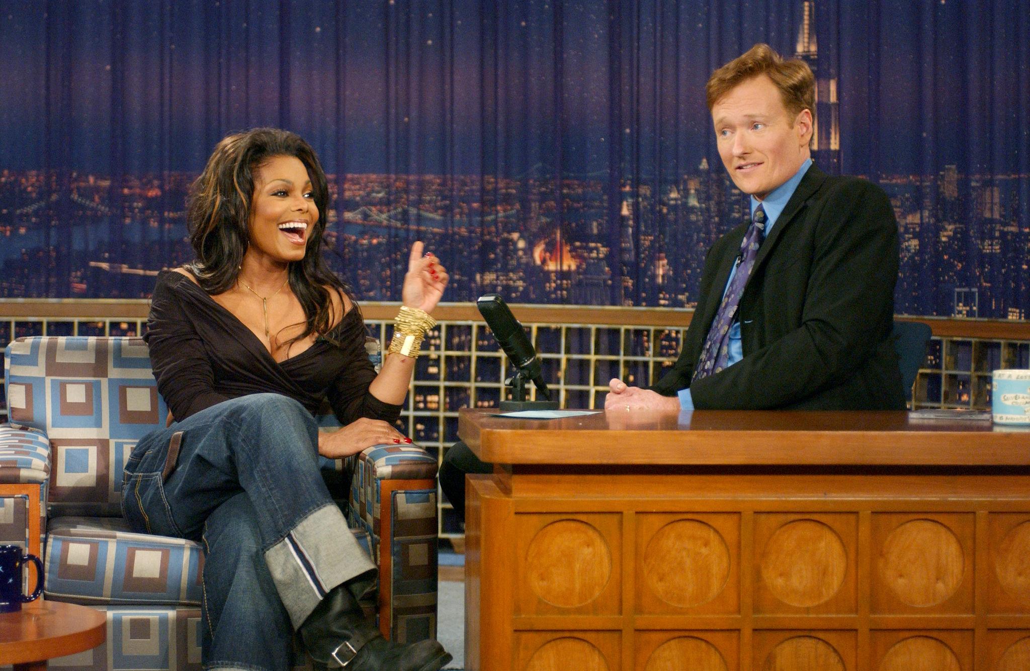 Janet Jackson talking