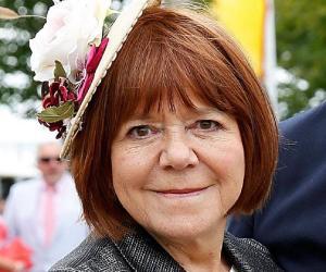 Smiling Rima Horton wearing a hat
