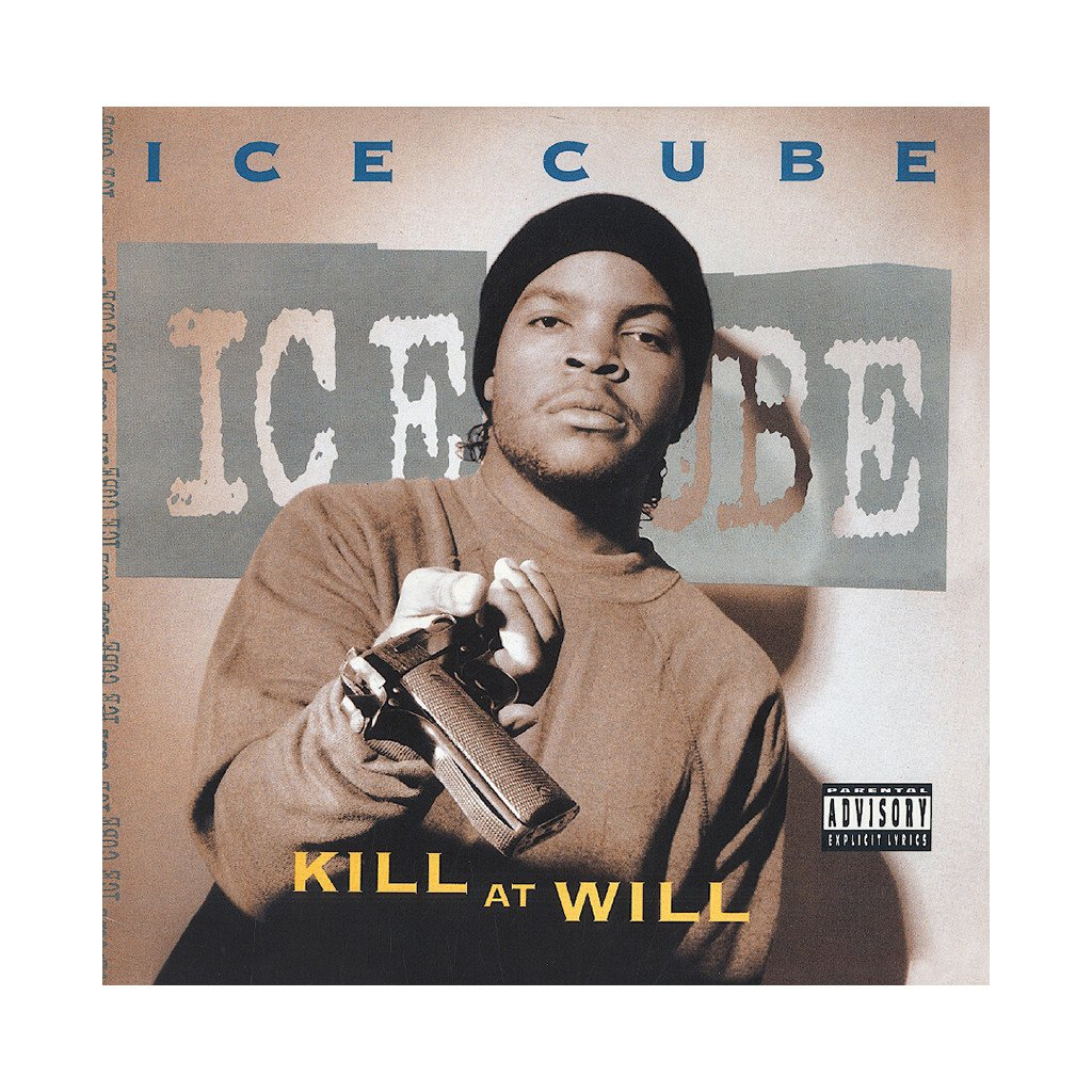 Poster of Ice Cube's EP Kill At Will
