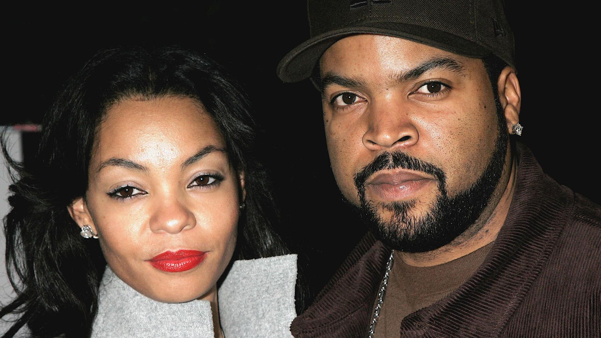 A closeup picture of Ice Cube and her wife