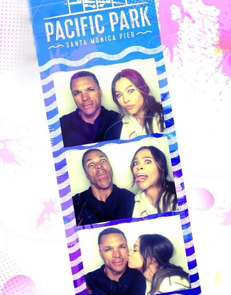 Funny pictures of October Gonzalez with her husband Tony Gonzalez