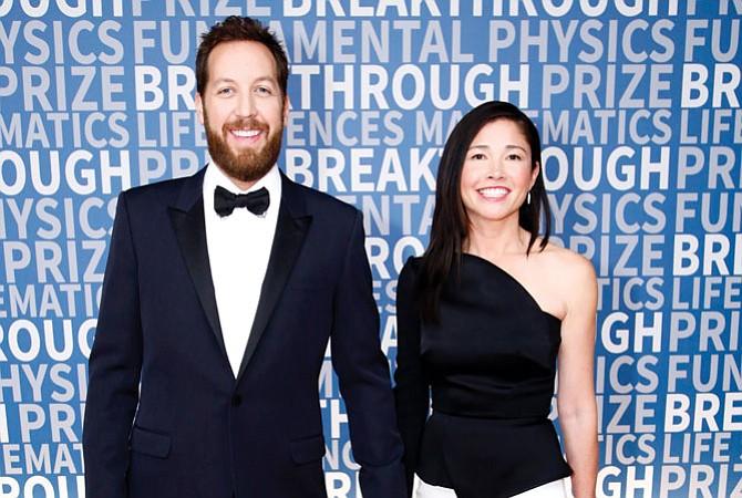 Billionaire Chris Sacca and his wife Crystal English Sacca