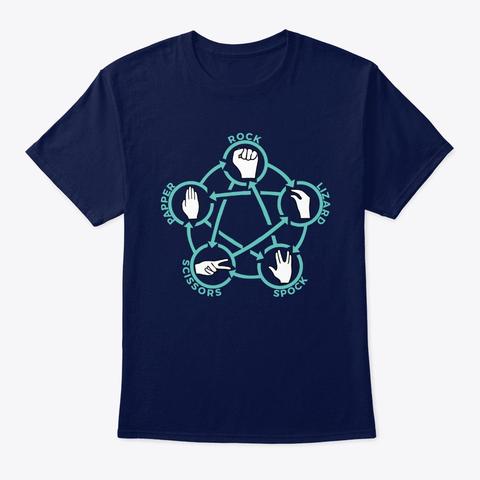 Sheldon Cooper Rock Paper Scissors Lizard Spock T-Shirt