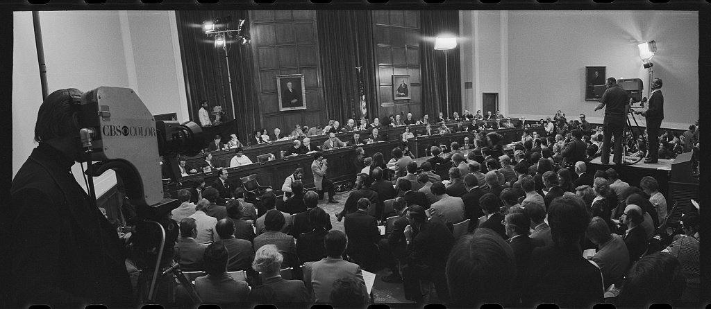 First day of the impeachment process against President Richard Nixon.