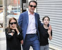 Mary-Kate Olsen spotted with Husband Olivier Sarkozy and his younger daughter.