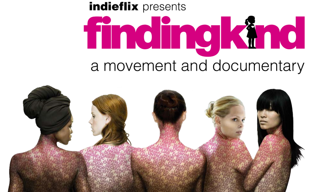 Poster for Finding Kind, a Indieflix documentary created Lauren Parsekian.