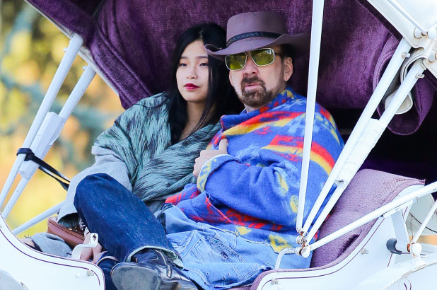Who is Nicolas Cage girlfriend